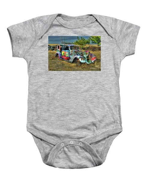 Tagged #3 Baby Onesie