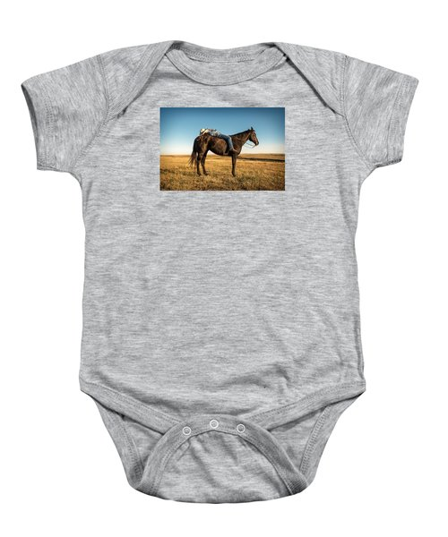 Taking A Snooze Baby Onesie by Todd Klassy
