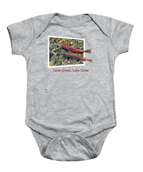 Taylor Creek, Lake Tahoe Baby Onesie