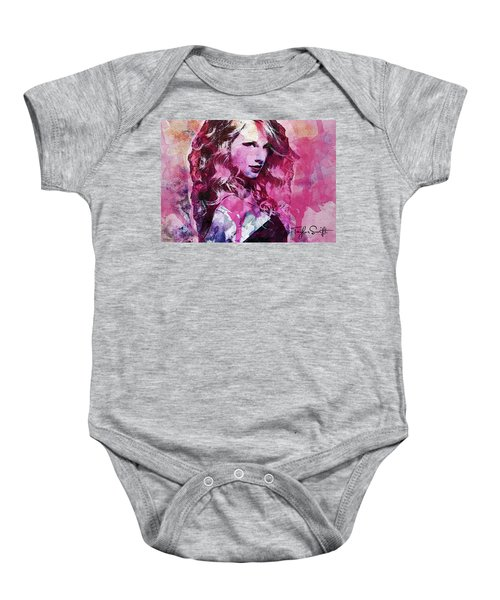 Taylor Swift - Oncore Baby Onesie by Sir Josef - Social Critic - ART
