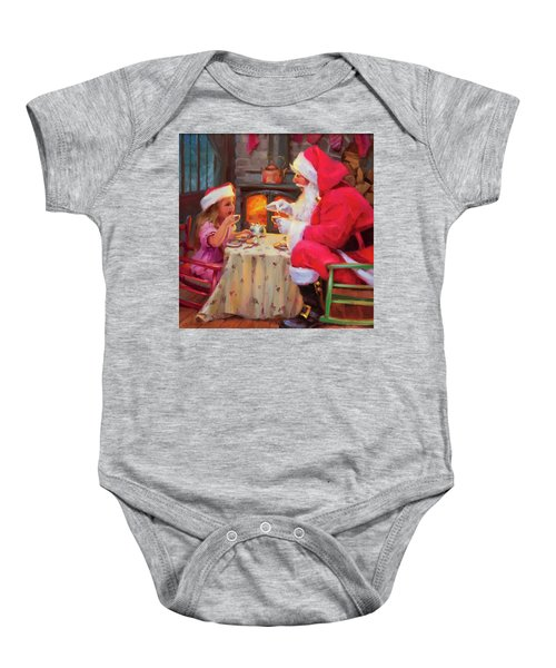 Tea For Two Baby Onesie
