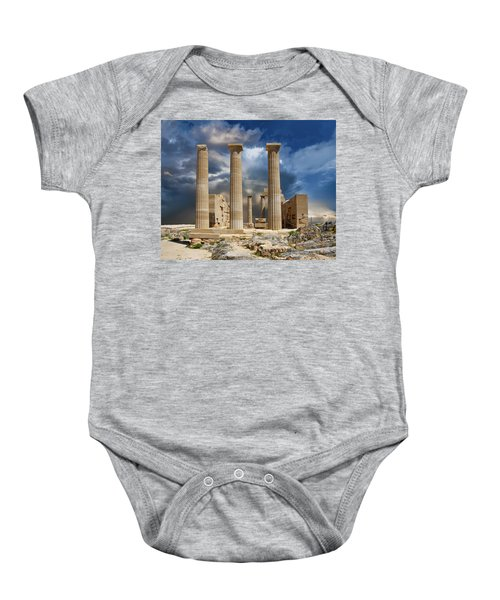 Temple Of Athena Baby Onesie