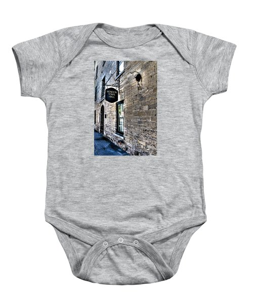 Mendon Town Hall Baby Onesie