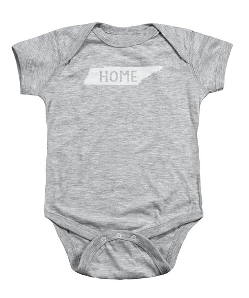 Tennessee Home White Baby Onesie