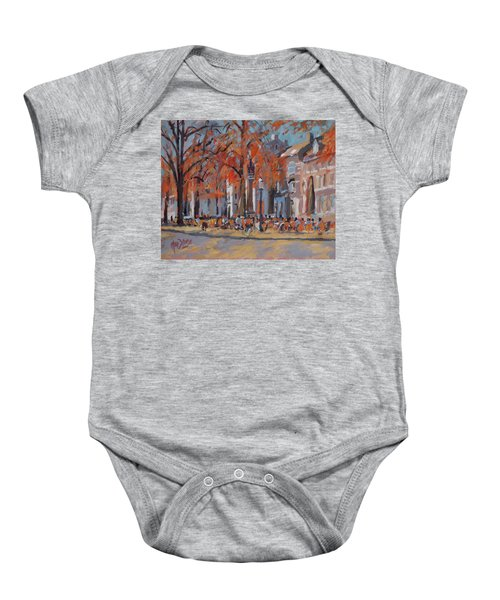 Terrace In The Grand Tanners Street Maastricht Baby Onesie