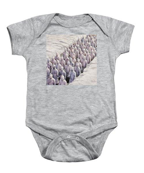Terracotta Warriors Baby Onesie