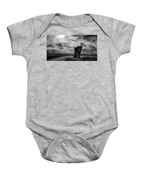 Teter Rock Hill Top View Baby Onesie