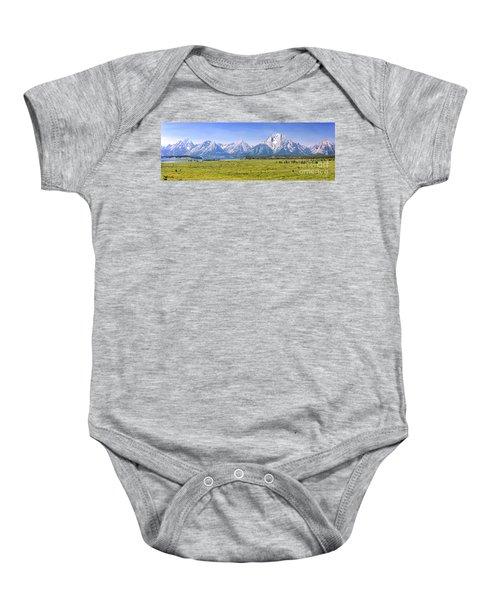 Teton Panorama Baby Onesie
