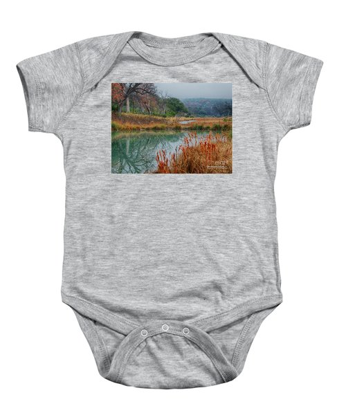 Texas Hill County Color Baby Onesie