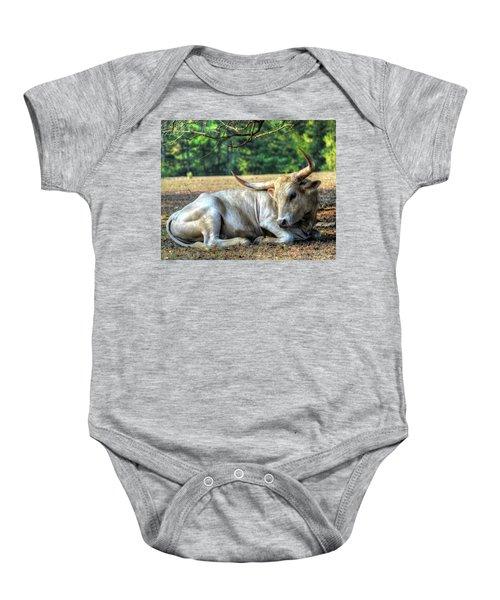 Texas Longhorn Gentle Giant Baby Onesie