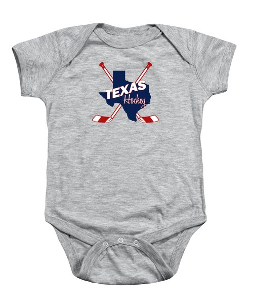 Texas State Hockey Baby Onesie by Summer Myers