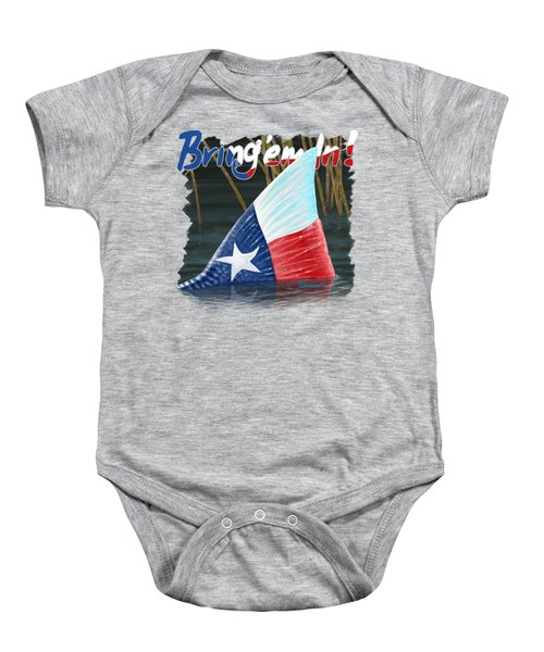 Texas Tails Baby Onesie by Kevin Putman