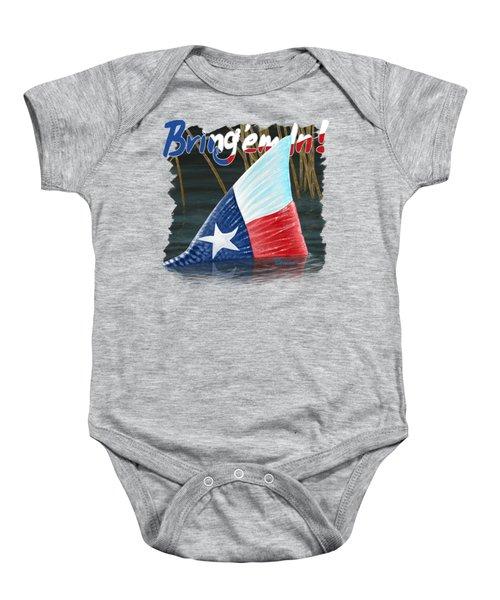 Texas Tails Baby Onesie
