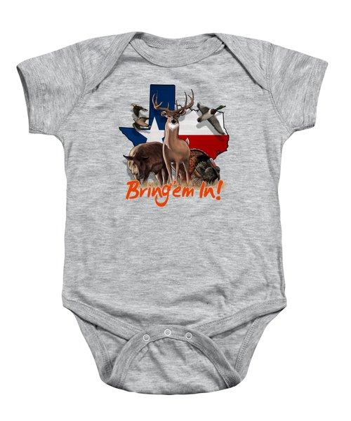 Texas Total Package Baby Onesie