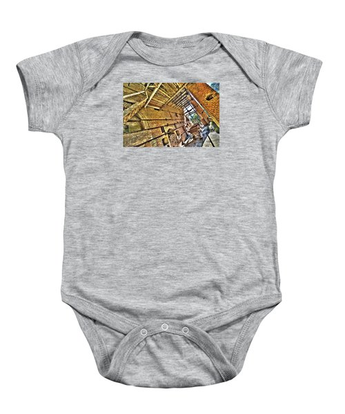 The Abandoned Furnace Quarry Building Baby Onesie