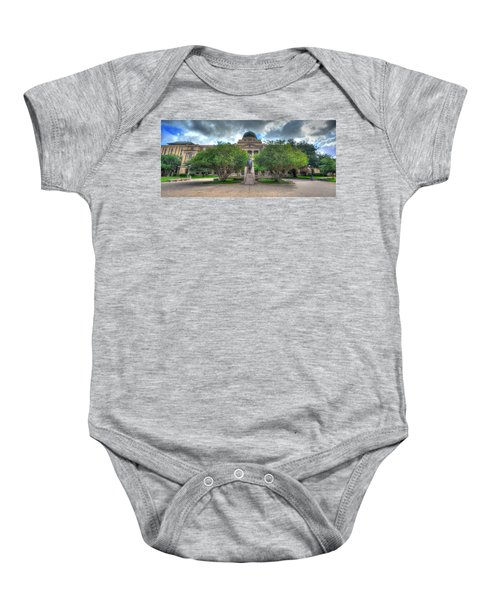 The Academic Building Baby Onesie