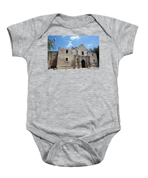 The Alamo Texas Baby Onesie