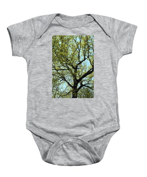 The All Over Tree Baby Onesie