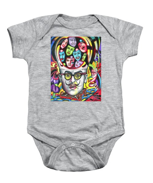 The Alluring Web Of Radical Thought Baby Onesie
