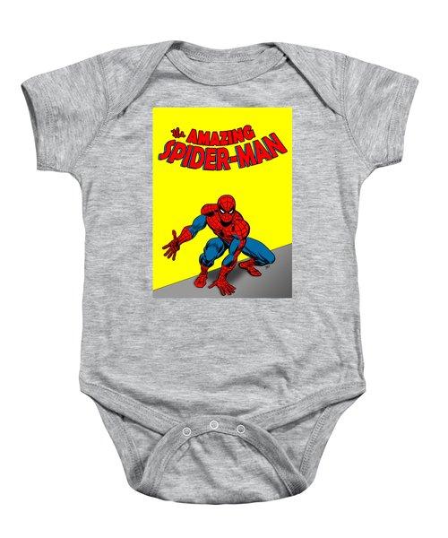 The Amazing Spider-man Baby Onesie
