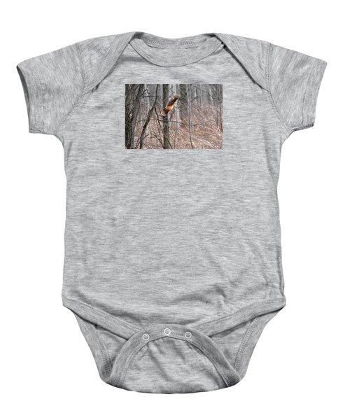 The American Woodcock In-flight Baby Onesie by Asbed Iskedjian