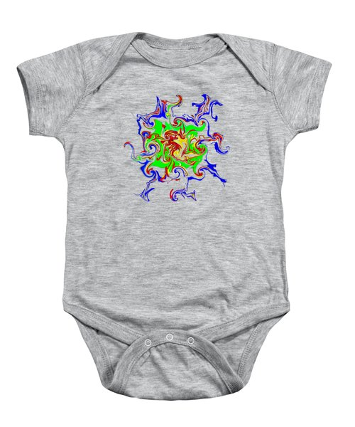 11017 The Arteries To My Soul Make A Weird And Colourful Road Baby Onesie