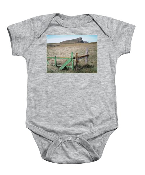 The Back 1000 Baby Onesie