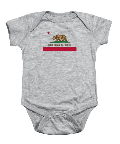 The Bear Flag - State Of California Baby Onesie
