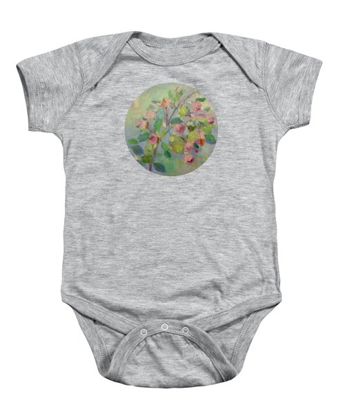 The Beauty Of Spring Baby Onesie by Mary Wolf