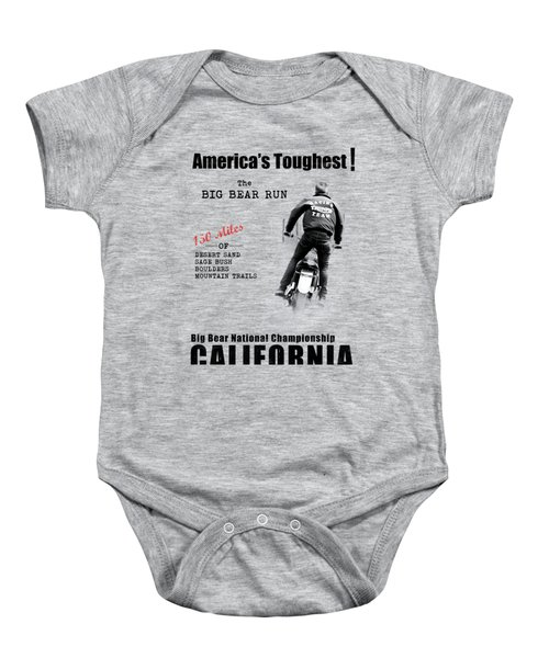 The Big Bear Run Baby Onesie
