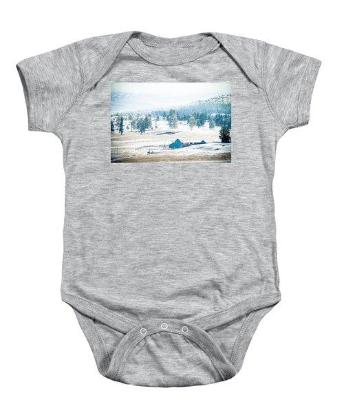 The Blue Barn Baby Onesie