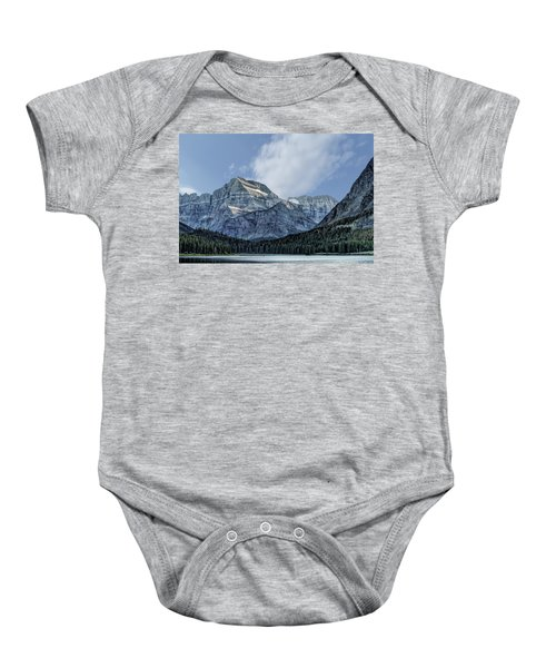 The Blue Mountains Of Glacier National Park Baby Onesie