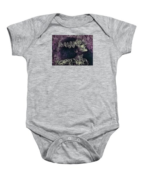 The Bride Of Frankenstein Baby Onesie