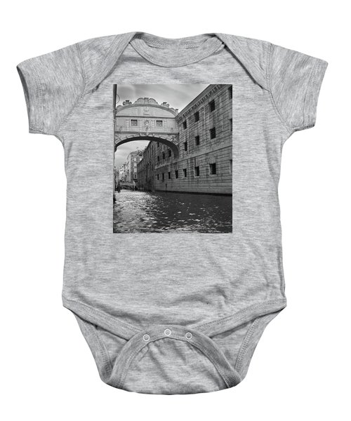 Baby Onesie featuring the photograph The Bridge Of Sighs, Venice, Italy by Richard Goodrich
