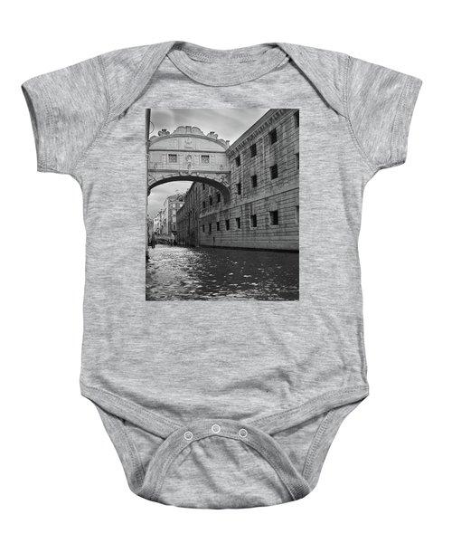 The Bridge Of Sighs, Venice, Italy Baby Onesie