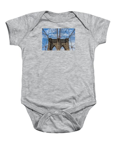 The Brooklyn Bridge Baby Onesie