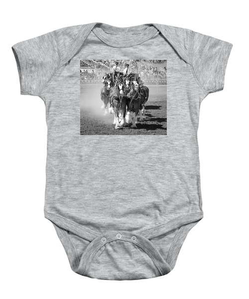 The Budweiser Clydesdales Baby Onesie