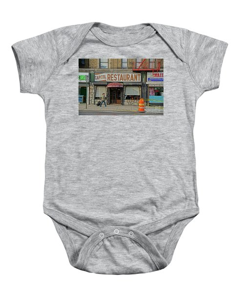 The Capitol Baby Onesie by Cole Thompson