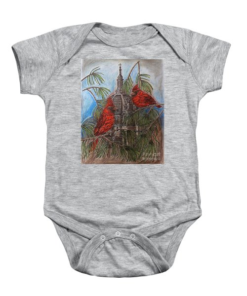 The Cardinals Visit St.pauls Cathedral Baby Onesie