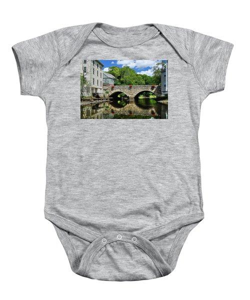 The Choate Bridge Baby Onesie