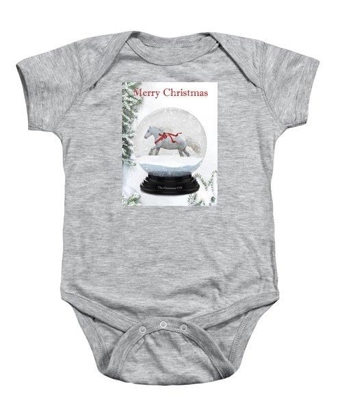 The Christmas Cob Baby Onesie