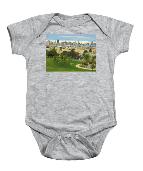The City From Dolores Park Baby Onesie