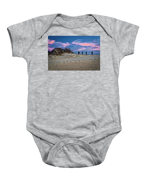 The Colors Of Sunset Baby Onesie