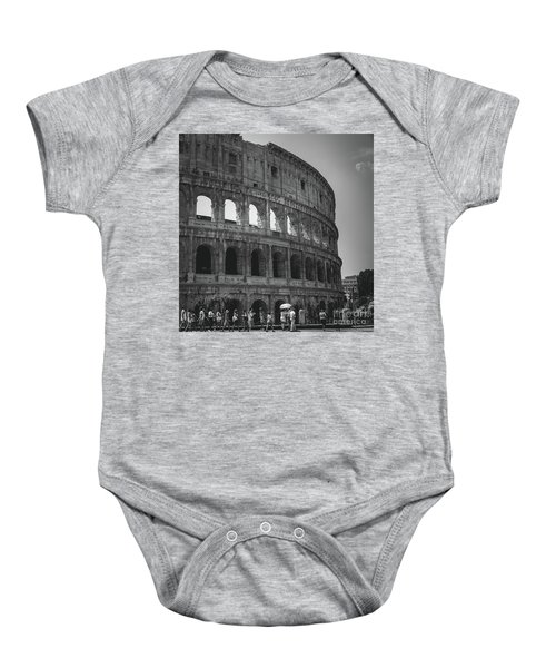 The Colosseum, Rome Italy Baby Onesie
