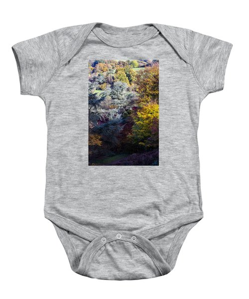 The Colours Of Autumn Baby Onesie