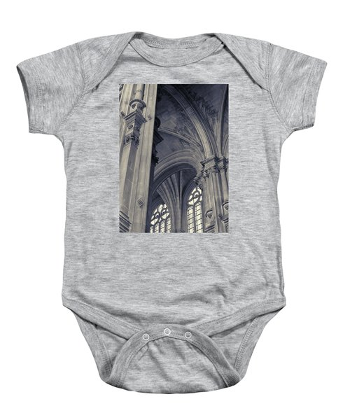 The Columns Of Saint-eustache, Paris, France. Baby Onesie