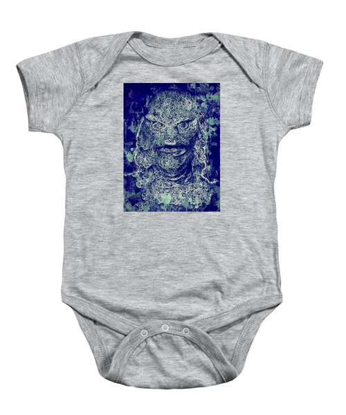 Creature From The Black Lagoon Baby Onesie