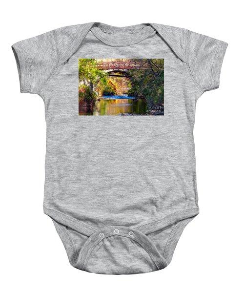 The Creek Baby Onesie