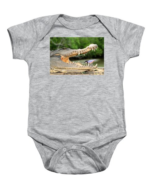 The Crocodile Bird Baby Onesie