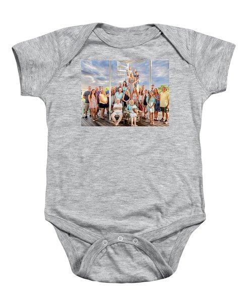 The Dezzutti Family Baby Onesie